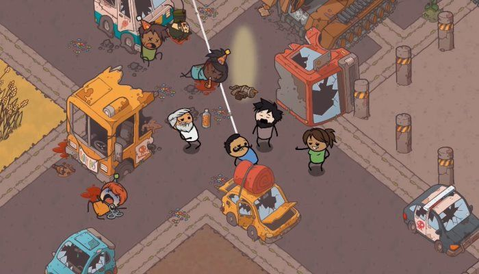 Cyanide & Happiness: Rapture Rejects - Battle Royale with a Comic Flair