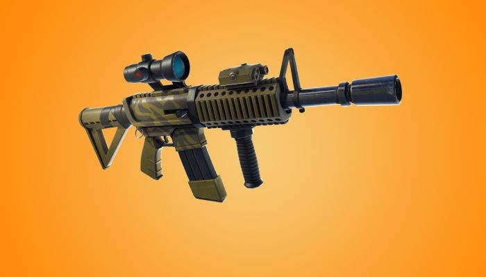 Fortnite - v4.4 Brings the Thermal Scope Assault Rifle & Ramp Traps