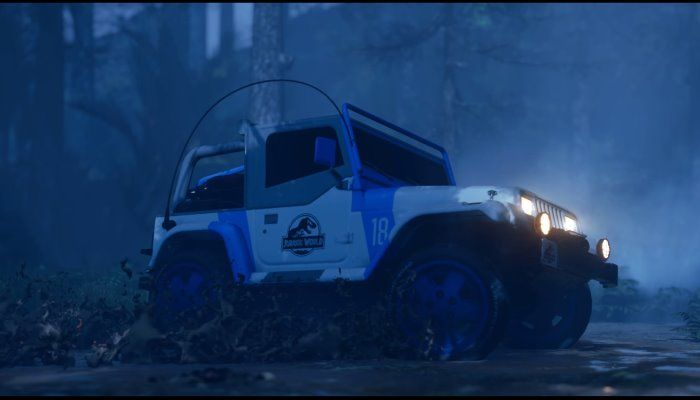 Crossover Into Jurassic World with the New Car Pack DLC