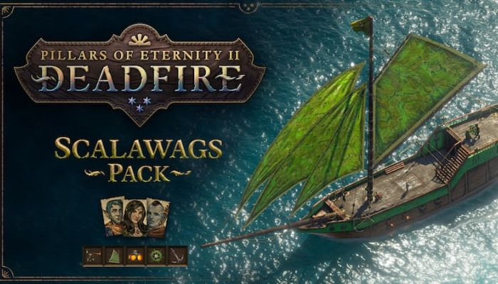 Free Scalawags DLC Adds New Ship Options & Crew - Pillars of Eternity 2: Deadfire News