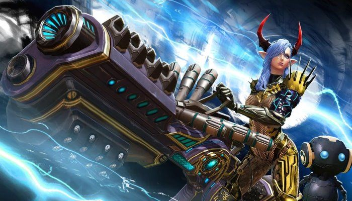 TERA - Gunner Class Arrives for Console Players
