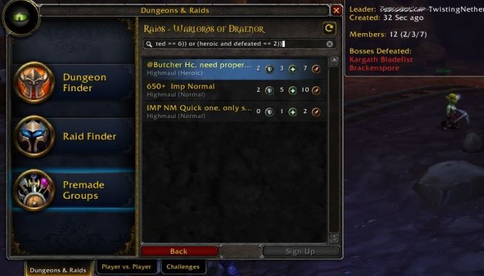 Blizzard Cracking Down on Group Finder Advertising + Bonus Roll: 3 Players Defeat Argus