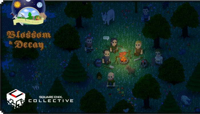 Blossom & Decay, a Browser & Mobile MMO, Lands on Square Enix Collective