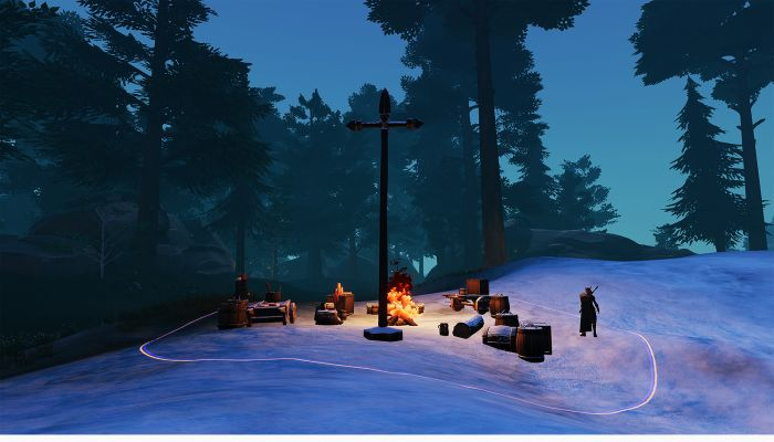Outposts Will Give Players New Ways to 'Meet & Greet' Fellow Players (with Swords....)