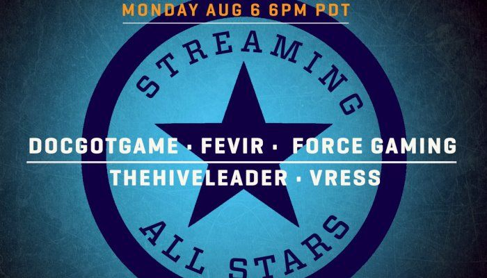 Join TheHiveLeader & His Streaming All-Stars in a Special Stream Event Today