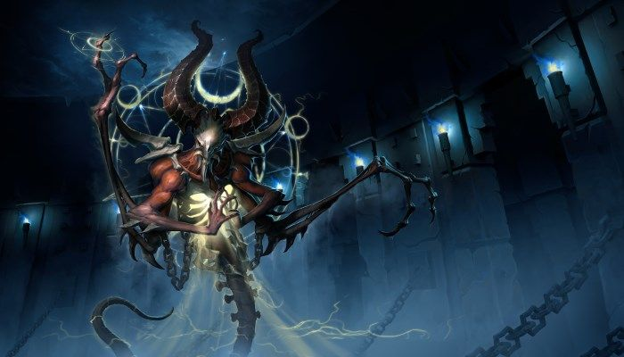 Diablo 2's Mephisto, Lord of Hatred Bringing His Special Brand of Evil to the Nexus