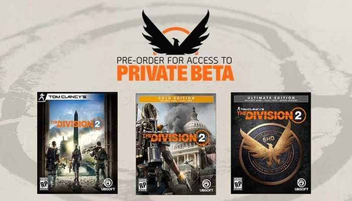 The Division 2 Pre-Orders Open Ahead of March 15th Release - The Division News