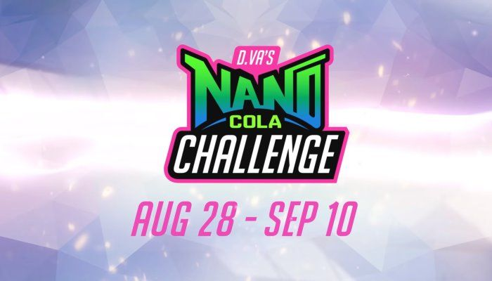 Participate in the New Overwatch 'D.Va's Nano Cola Challenge' to Unlock Themed Items