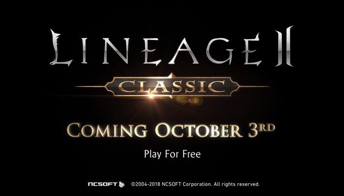 Lineage II Classic Servers Set to Launch on October 3rd - Lineage 2 News