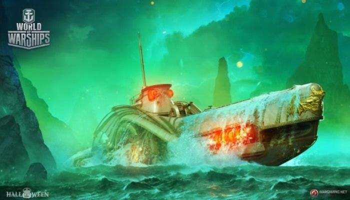 World of Warships Heading Underwater with New Submarines During the Halloween Event