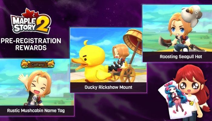 MapleStory 2 Pre-Registration Event Opens & You Can Earn Stuff If You Do - MMORPG.com