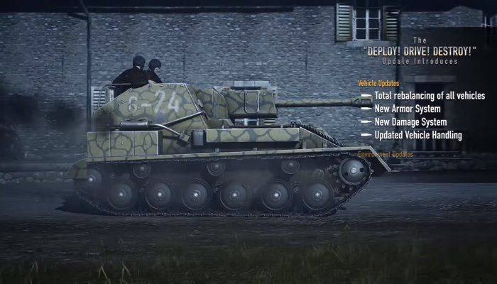 Heroes & Generals Rebalances All Vehicles in 'Largest Update Ever ' - Heroes & Generals News