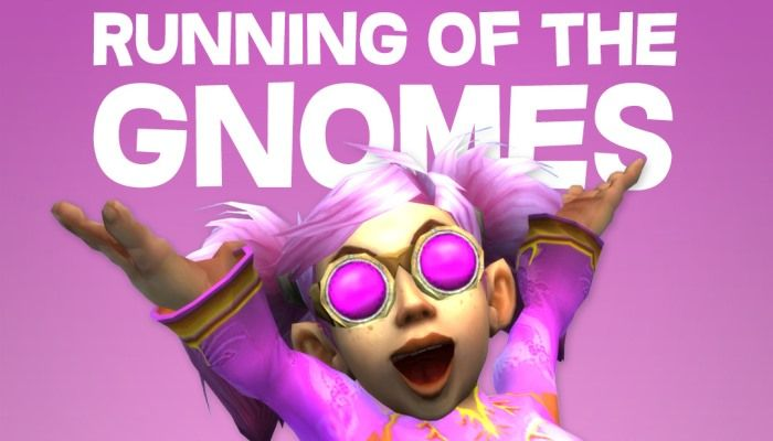 Running of the Gnomes is World of Warcraft's Biggest Community Charity Event - MMORPG.com
