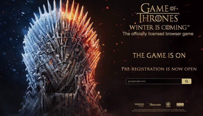 YooZoo Games Collaborates with HBO for a Browser-Based Game of Thrones Title