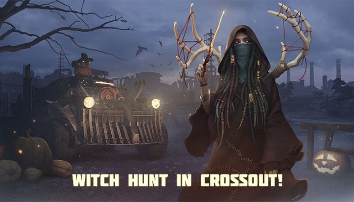 Crossout Players Can Now Race Through Tricky Treats & Halloween Themed PvP Missions