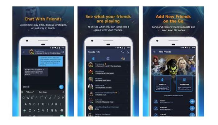 The Blizzard Battle.Net App Arrives for iOS & Android Devices