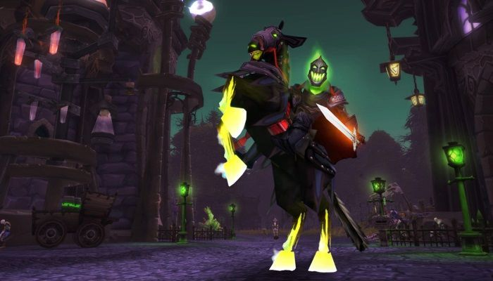 Hallow's End Kicks Off In World of Warcraft - Time to Get the Horseman's Mount