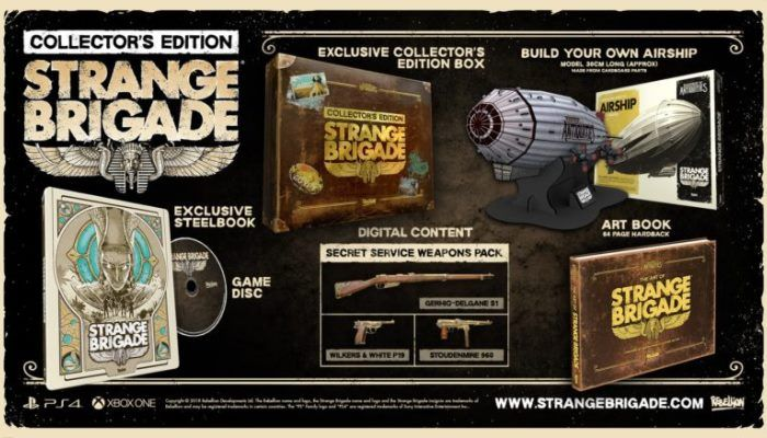 Win a Console Strange Brigade Collector's Edition in the GameSpace Gleam Giveaway