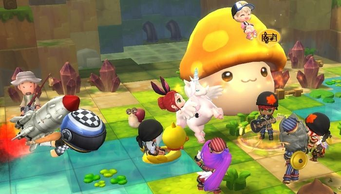 Over a Million Registered Accounts Highlight the Successful Launch of MapleStory 2 - MapleStory 2 News