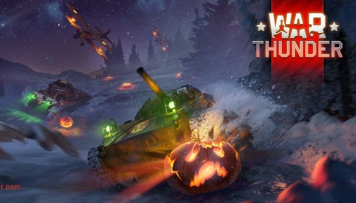 Halloween Blasts Into War Thunder - MMORPG.com
