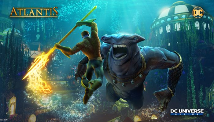 DC Universe Online Dives Into Atlantis Starting Today