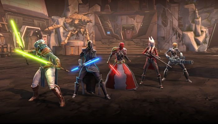 Star Wars: The Old Republic to Launch Jedi Under Siege in December