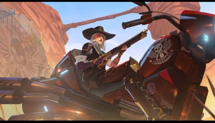 Ashe Blasts Into Overwatch & Mercy Gets Some Buffs in Latest Update