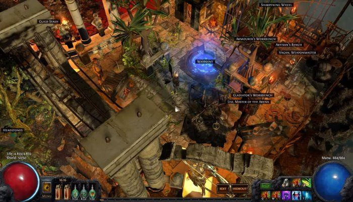 Grinding Gear Reveals Changes Coming to Path of Exile's Hideouts