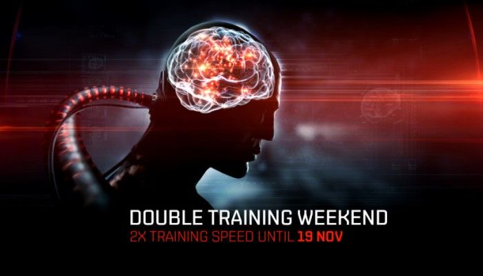 Enjoy an EVE Online Double Training Weekend Through November 19th
