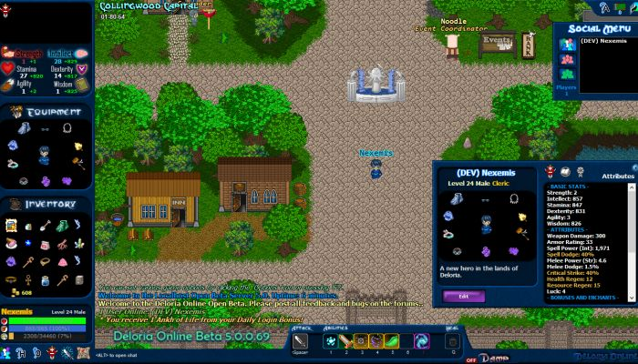 Deloria Online Enters Open Beta with a Celebratory Launch Event