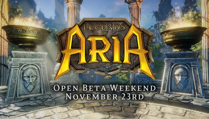 Play Legends of Aria for Free from November 23rd to November 25th