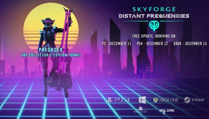Skyforge to Deploy 'Distant Frequencies' Content Expansion on December 11th - Skyforge News