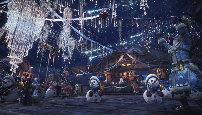 Monster Hunter World Winter Star Fest  Launches for XB1, PS4 & PC
