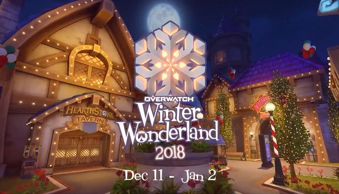 Overwatch's Winter Wonderland Event to Start December 11th