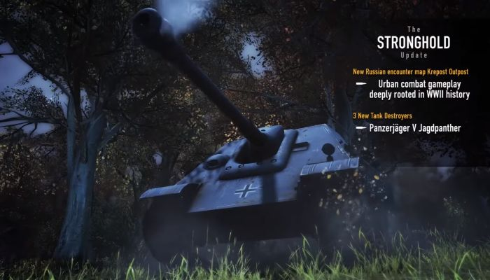 Heroes & Generals Updated with New Map, Tank Destroyers & More