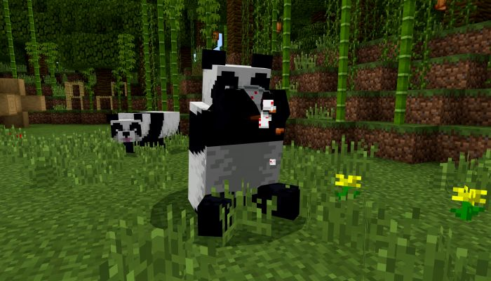 Assist the Wildlife World Fund by Placing Bamboo Blocks in Minecraft