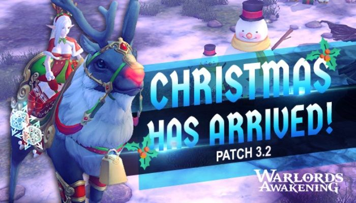 Warlords Awakening Unleashes the Holidays