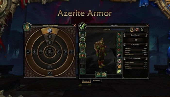 World of Warcraft Q&A - Soon Azerite Armor Will Drop with All Traits Unlocked