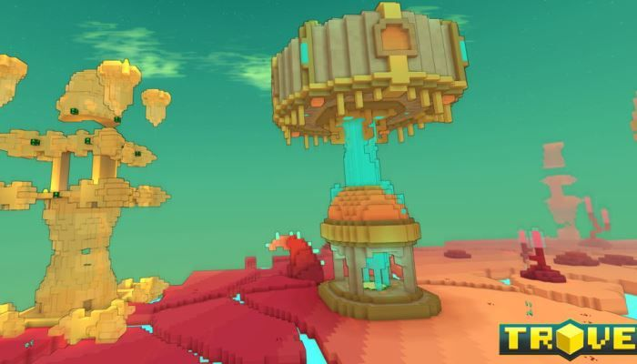 Trove updating today with crystal combat with its new dungeons.