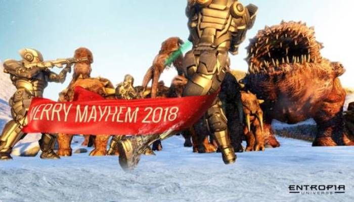 Entropia Universe Invites Players to Come Join Merry Mayhem & Other Festive Fun - Entropia Universe News