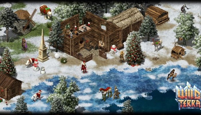 Wild Terra Players Can Give and Receive Gifts with New Holiday Event