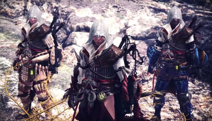 Monster Hunter: World x Assassin's Creed Collab Arrives as a New Year's Surprise - Monster Hunter World News