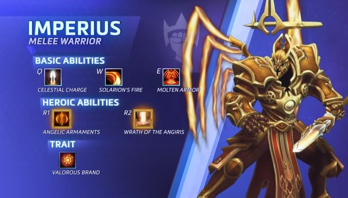 Imperius Marches Into the Nexus Ready to Take On All Comers