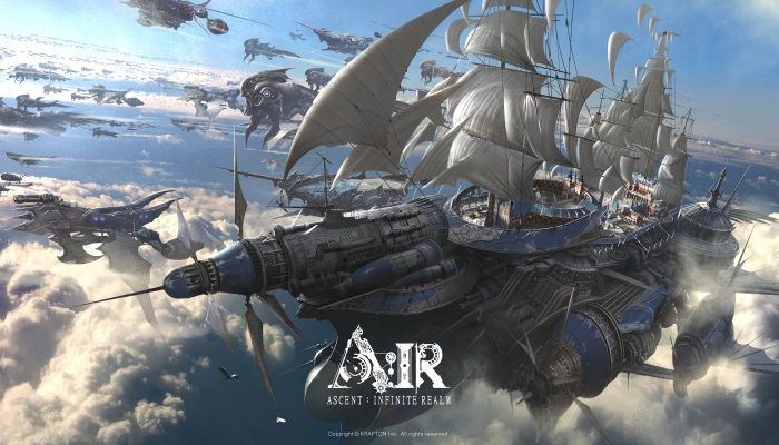 Ascent: Infinite Realm Team Previews the Giant Airship 'Inventus' & SEA Combat Video