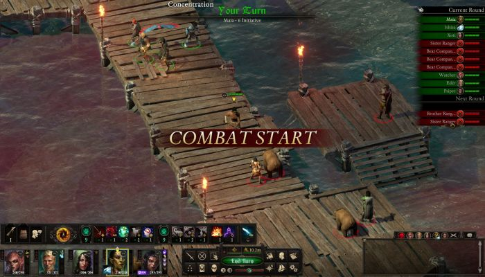 Pillars of Eternity 2: Deadfire to Receive Turn-Based Combat in Thursday's Update