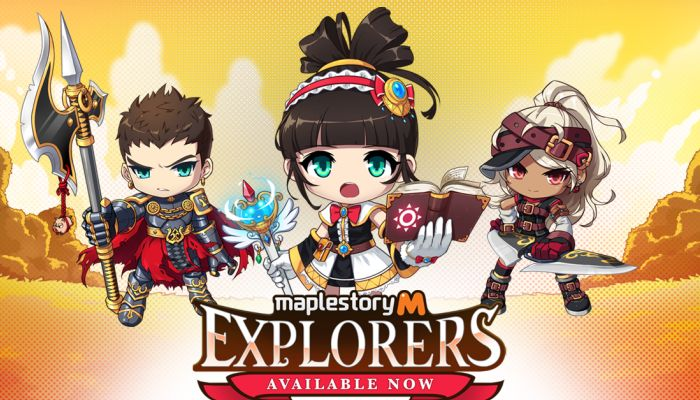 MapleStory M Expands with a Trio of New Explorer Classes - MapleStory M News