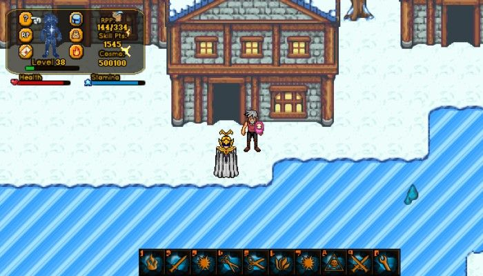 16 Bit-Like 2D MMORDG Azusa RP Online Launches on Steam