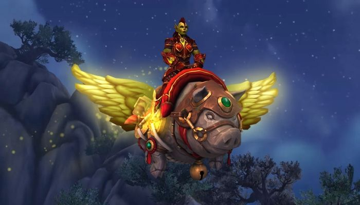 Blizzard Unveils Yet Another World of Warcraft Store Mount - Hogrus, Swine of Good Fortune
