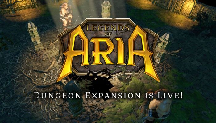 Legends of Aria's Dungeon Expansion is Live - Legends of Aria News