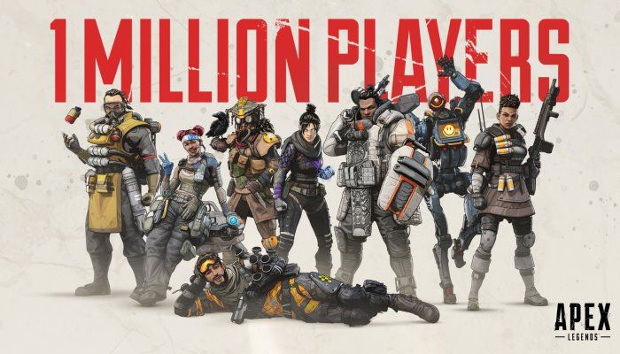 Apex Legends Draws in Over 1M Players Less Than 8 Hours After Launch - Apex Legends News